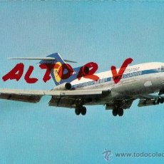 Postales: POSTAL A COLOR LUFTHANSA BOEING 727 EUROPA JET PRINTED IN GERMANY. Lote 11526576