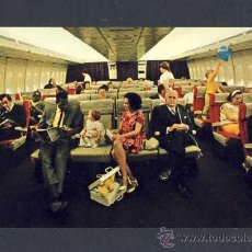 Postales: POSTAL DE AVIACION: PAN AM 'S NEW 747 (AVION). Lote 11828443