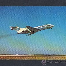 Postales: POSTAL DE AVIACION: PAN AM 'S 727 JET CLIPPER (AVION). Lote 11828507