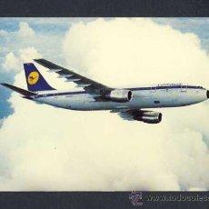 Postales: POSTAL DE AVIACION: LUFTHANSA A300 (AVION). Lote 11828560