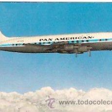 Postales: POSTAL AVION COMPAÑIA PAN AMERICAN AÑO 1959. Lote 11924567