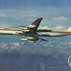 Postales: Nº 4441 POSTAL IBERIA AVION SUPER DC-8/63 DOUGLAS JET. Lote 12058382
