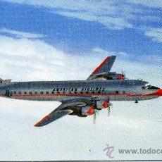 Postales: POSTAL DE UN AVION DE AMERICAN AIRLINES. Lote 14177672