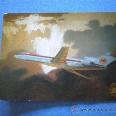 Postales: POSTAL IBERIA BOEING 727 / 256 CIRCULADA 1972. Lote 15555263