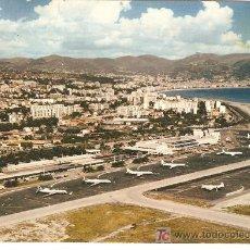 Postales: POSTAL AEROPUERTO DE NIZA COTE D'AZUR.CIRCULADA 1972. Lote 26211634