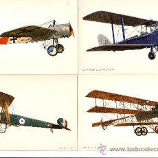 Postales: AVIONES - OCHO POSTALES POSTALES EDICIONES C Y Z. Lote 15946655