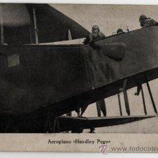 Postales: AEROPLANO - HANDLEY PAGE. Lote 26311476