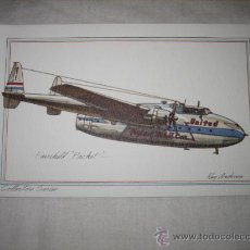 Postales: FAIRCHILD PACKET . Lote 17692333