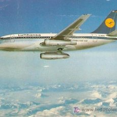 Postales: CITY JET- LUFTHANSA B757- PRINTED IN GERMANY - SIN ESCRIBIR- VELL I BELL. Lote 24988544