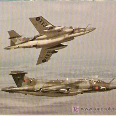 Postales: HAWKER SIDDELEY BUCCANEER S-2A - ENGLAND- ESCRITA 1980- VELL I BELL. Lote 26713434