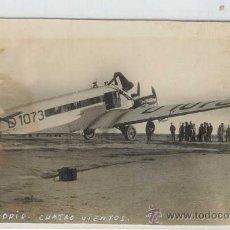 Postales: (PS-16416)POSTAL FOTOGRAFICA DE MADRID-CUATRO VIENTOS. Lote 18873874