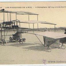 Postales: POSTAL ORIGINAL ANTIGUA, LOS PRIMEROS AVIONES AEROPLANOS, ENTRE 1900 Y 1910, SIN CIRCULAR, VER FOTOS. Lote 27323869
