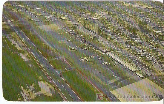 AEROPUERTO INTERNACIONAL DE MEXICO - SIN ESCRIBIR-- VELL I BELL (Postales - Postales Temáticas - Aeroplanos, Zeppelines y Globos)