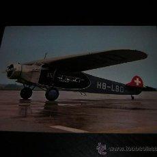Postales: AVION - AVIONETA FOKKER VII 1929 - POSTAL ORIGINAL SIN CIRCULAR - AVIONES - AVIACION. Lote 19833511