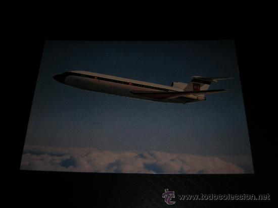 AVION - TRIDENT BEA - POSTAL ORIGINAL SIN CIRCULAR - AVIONES - AVIACION (Postales - Postales Temáticas - Aeroplanos, Zeppelines y Globos)