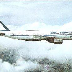 Postales: POSTAL AIRBUS A300B2. AIR FRANCE.ESCUDO DE ORO.. Lote 26981471
