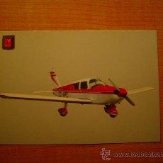 Postales: POSTAL AVIOMETAS DEPORTIVAS PIPER PA 28 CHEROKEE C REAL CLUB BARCELONA SABADELL SIN CIRCULAR. Lote 21056991