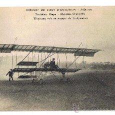 Postales: POSTAL DE ÉPOCA, LOS PRIMEROS AVIONES - AEROPLANOS, SIN CIRCULAR, AÑO 1910, VER FOTOS.. Lote 26403371