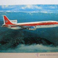 Postales: POSTAL DE AVION: LOCKHEED TRISTAR (AÑOS 70 APROX). Lote 21940131