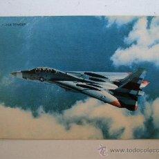 Postales: POSTAL DE AVION MILITAR: F-14 A TOMCAT (SIN CIRCULAR). Lote 21940651
