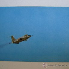 Postales: POSTAL DE AVION MILITAR: F-104 G STARFIGHTER (SIN CIRCULAR). Lote 21940705