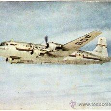 Postales: BONITA POSTAL AVION - SCANDINAVIAN - DOUGLAS DC-6.(AEROLÍNEA NACIONAL DE:DINAMARCA, NORUEGA Y SUECIA. Lote 23090028