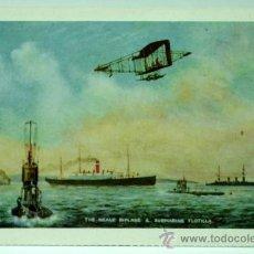 Postales: POSTAL THE NEALE BIPLANE & SUBMARINE FLOTILLA ED ANTALBE AÑOS 90 SIN CIRCULAR. Lote 24591198