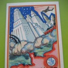 Postales: AIR FRANCE. 1948. AMÉRIQUE DU NORD. Lote 24733981