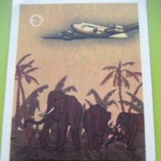 Postales: AIR FRANCE. 1948. AFRIQUE OCCIDENTALE - EQUATORIALE.. Lote 24734014