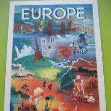 Postales: AIR FRANCE. 1948. EUROPE. Lote 24734022