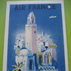 Postales: AIR FRANCE. 1948. AFRIQUE DU NORD.. Lote 24734033