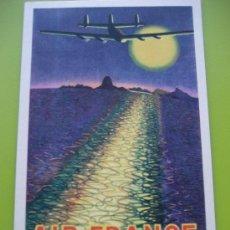 Postales: AIR FRANCE. 1948. AMÉRIQUE DU SUD.. Lote 24734046