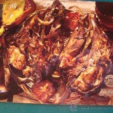 Postales: POSTAL DE AEROLÍNEAS IBERIA. AÑO 1969. CABEZA CORDERO AL HORNO. AEROLÍNEA ESPAÑOLA. 1174. . Lote 24782448