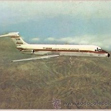 Postales: POSTAL A COLOR IBERIA JET DOUGLAS DC 9 SERIE 30 IBERIA. Lote 24825162