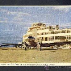 Postcards - Postal de aviacion: Aeropuerto de Dublin. Irish Air Plane - 25532996