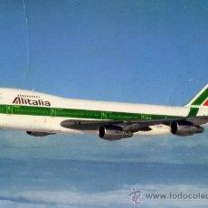 Postales: BOEING 747-243 B-COMBI AIR ITALIA SIN CIRCULAR. Lote 26278401
