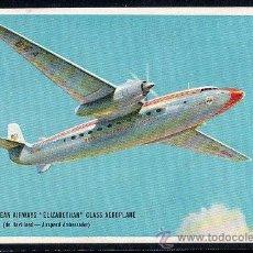 Postales: TARJETA POSTAL DEL AVION BRITISH EUROPEAN AIRWAYS