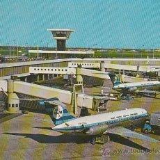 Postales: AEROPUERTO DE AMSTERDAM (HOLANDA). Lote 26666159