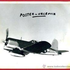 Postales: FOTO AVION , MILITAR , EN EL AIRE , DE HELICE, ORIGINAL , M99. Lote 27176748