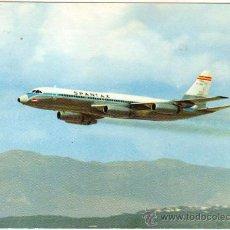 Postales: SPANTAX - CONVAIR CV 990 A - CORONADO. Lote 28219835