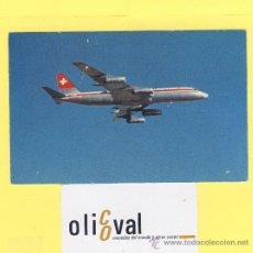 Postales: AVION -AVIONES- SWISSAIR CONVAIR 990 CORONADO- P-1020. Lote 28374158