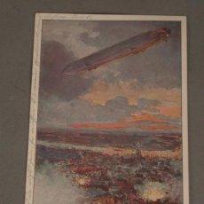 Postales: POSTAL. PRIMERA GUERRA MUNDIAL. 1915. ZEPPELIN. ALEMANIA.KAISERREICH.. Lote 28468039