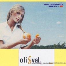 Postales: AVION -AVIONES AIR FRANCE -PRIMER VIAJE DESDE VALENCIA A PARIS CHARLES DE GAULLE - P-0980. Lote 28632597