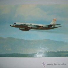 Postales: AVION SPANTAX CONVAIR CV990 A CORONADO. Lote 28649125