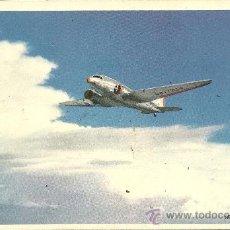 Postales: POSTAL TEMA AVION, AMERICAN AIRLINES, VOLANDO POR LA RUTA DE LOS (FLAGSHIPS) IN FLIGHT,. Lote 29103738