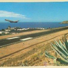 Postales: POSTAL DE SANTA CRUZ, MAIDERA, PORTUGAL. AÑOS 60-70. AVIÓN AEROPUERTO SANTA CATARINA. 1257. . Lote 29296444