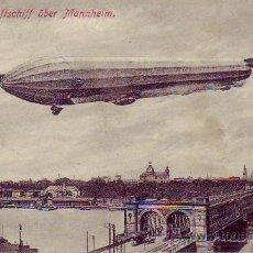Postales - zeppelin`s luftschiff über mannheim - 29332164