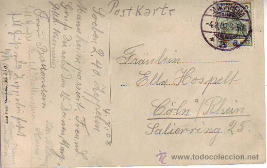 Postales: zeppelin`s luftschiff über mannheim - Foto 2 - 29332164