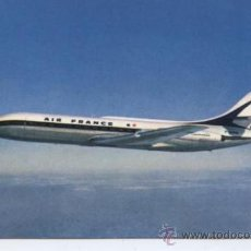 Postkarten - POSTAL DE AVION ++ AIR FRANCE. AVION. CARAVELLE - 29478922