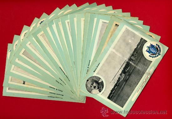 LOTE DE 19 POSTALES DE AVIONES ANTIGUOS ,CIRCUITO EUROPEO 1911, VER FOTOS, ANTIGUAS ORIGINALES (Postales - Postales Temáticas - Aeroplanos, Zeppelines y Globos)